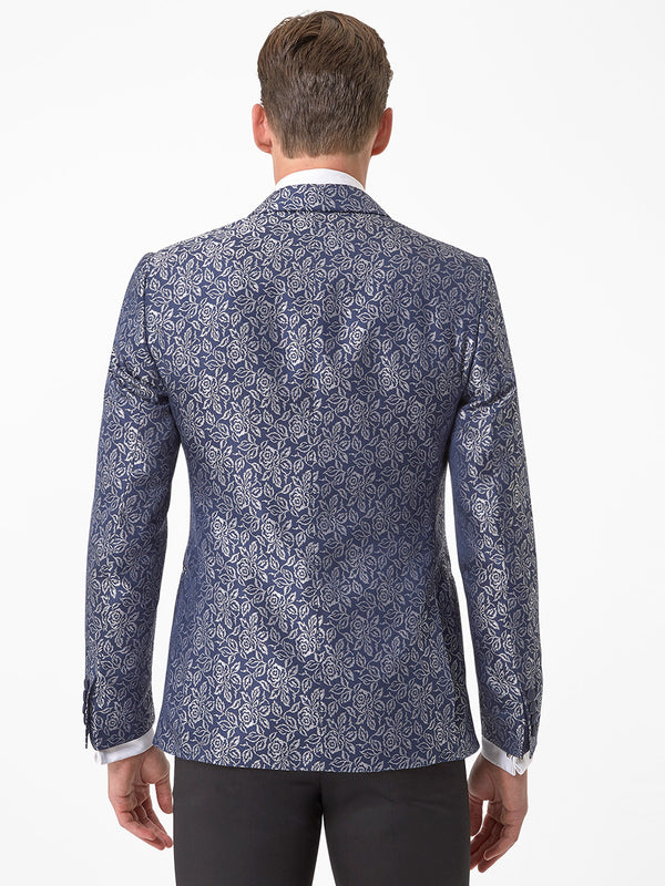 Mens-Floral-Jacket-Navy