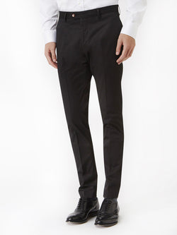 Plain-Satin-Trouser-Black