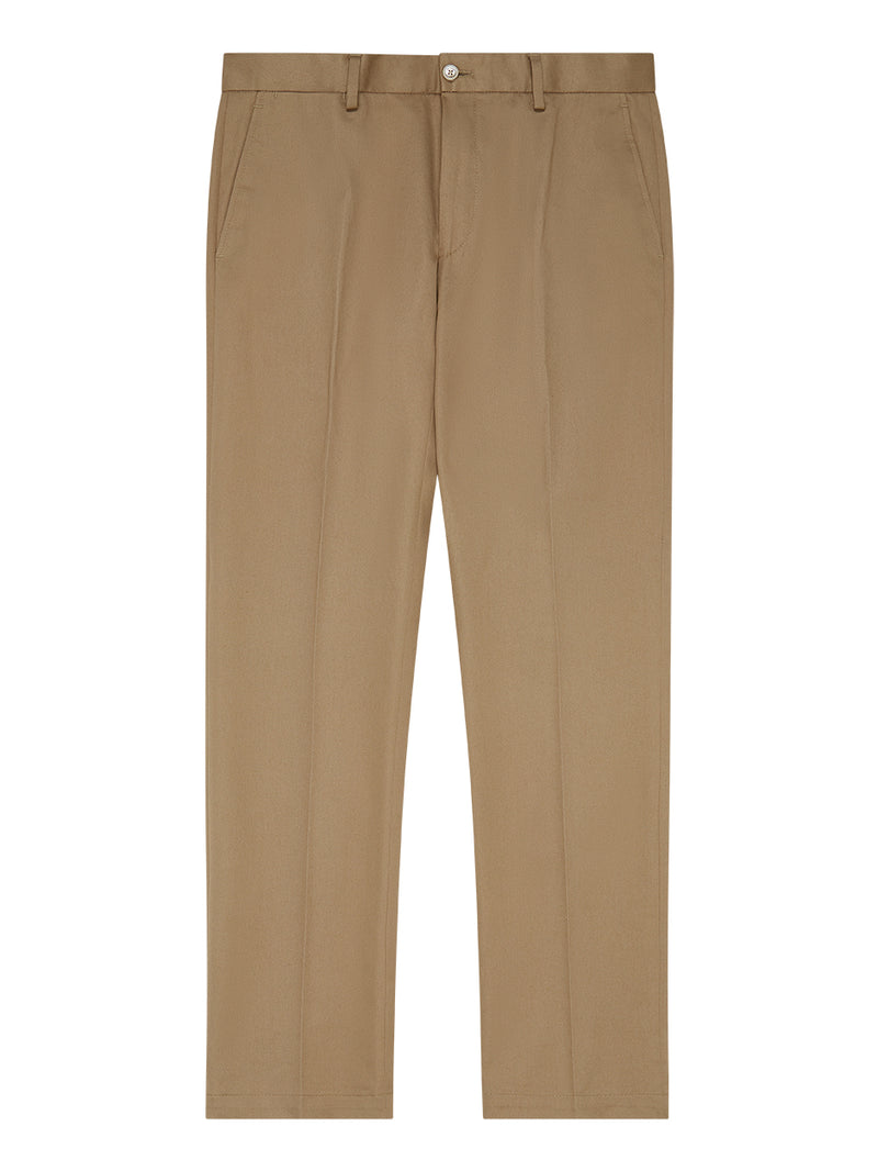 Plain Twill Trousers Neutral