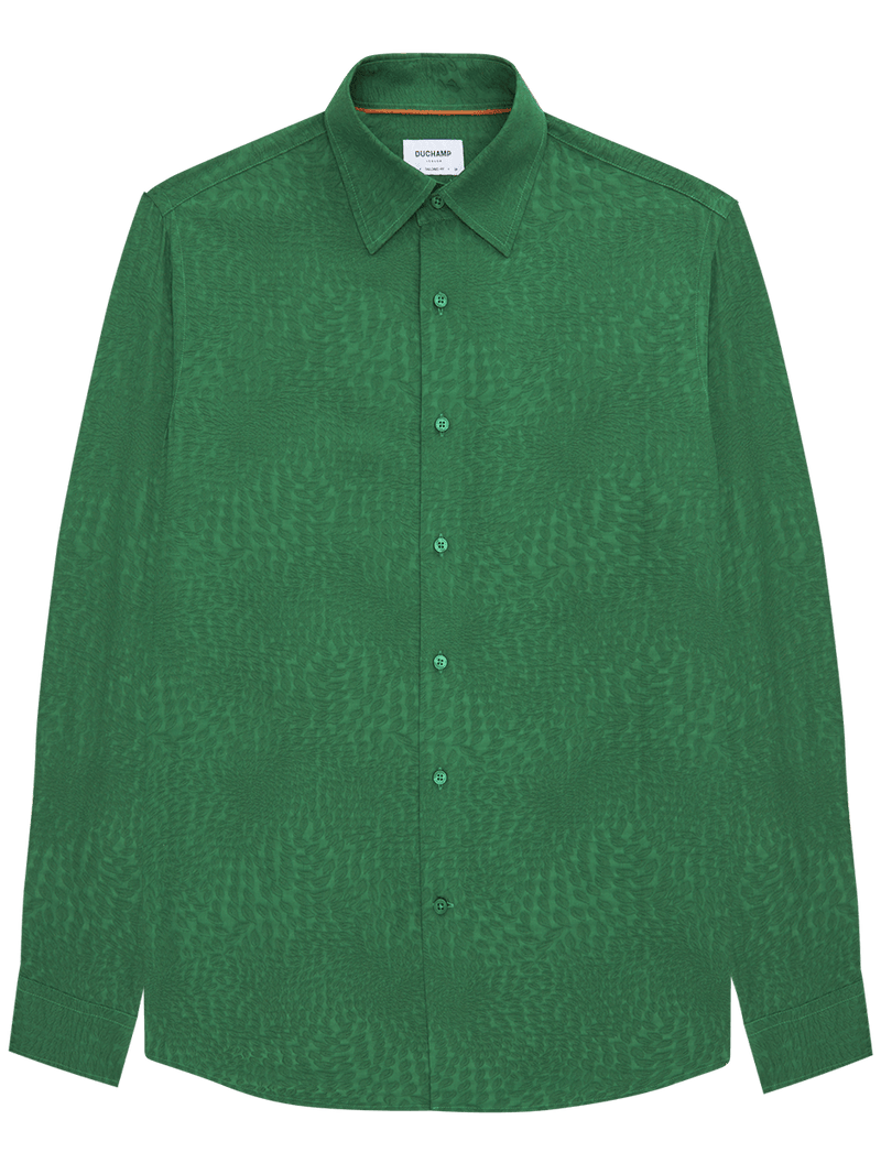 Polaris Jacquard Shirt Green