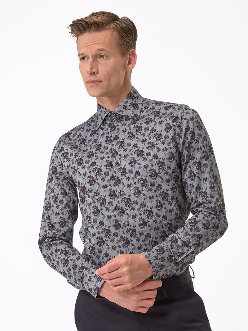 Mens-Grey-Shirt