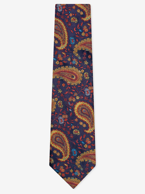 Dazzle-Paisley-Tie-Orange