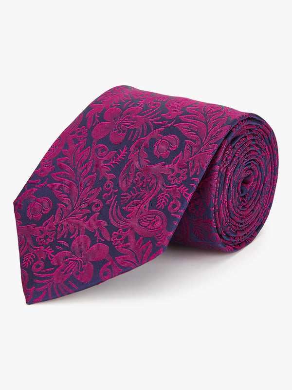 Duotone Floral Tie Pink.
