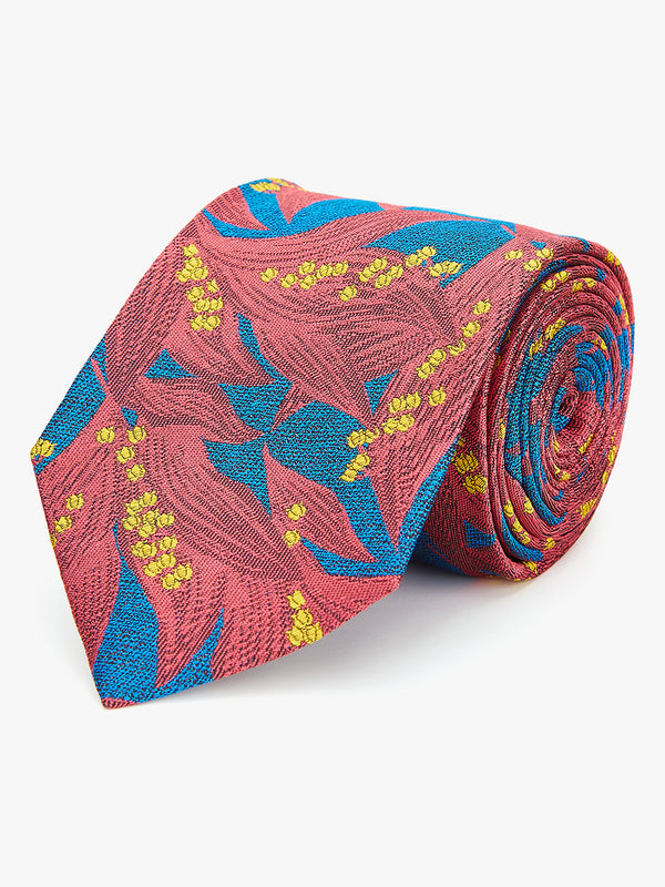 Bluebell Floral Tie Pink.