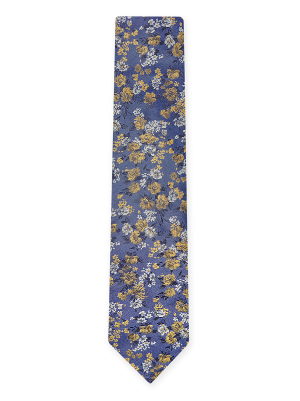 Flash Floral Tie Purple