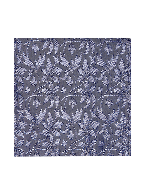 Loral Floral Pocket Square Purple