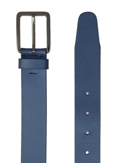 Heavy-Grain-Saffiano-Belt-Blue