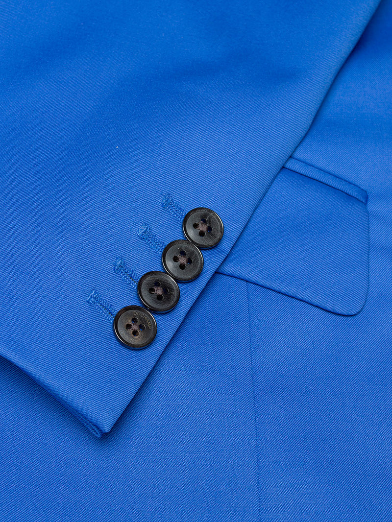 Peak Florence Plain Suit Blue