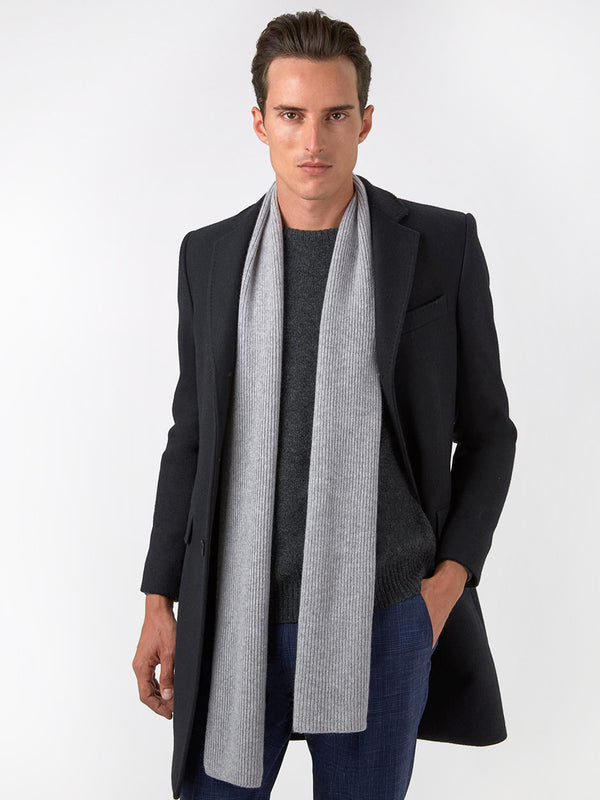 Plain-Milled-Wool-Coat-Black
