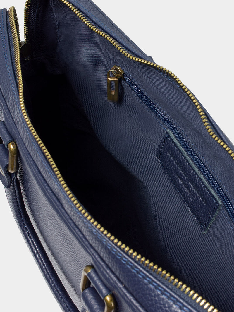 Leather-Briefcase-Navy