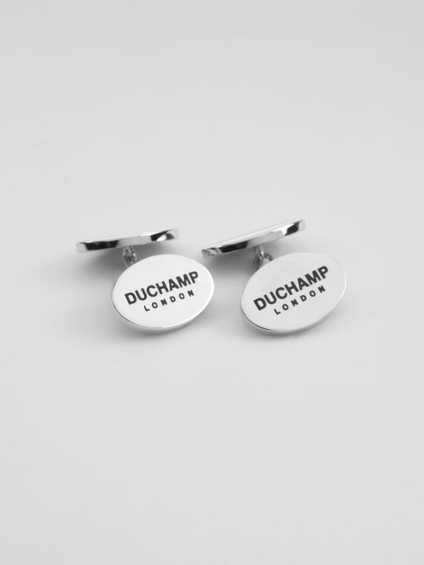 Duchamp London Cufflink Grey