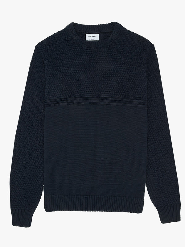 Cotton-Moss-Stitch-Jumper-Navy