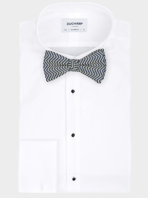 Textured-Zig-Zag-Ready-Tied-Bow-Tie