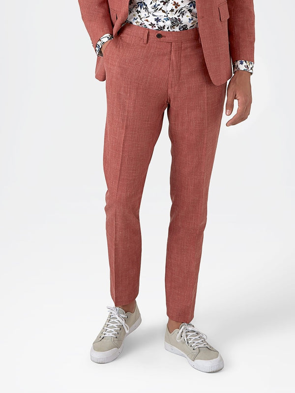 Plain-Textured-Trousers-Pink