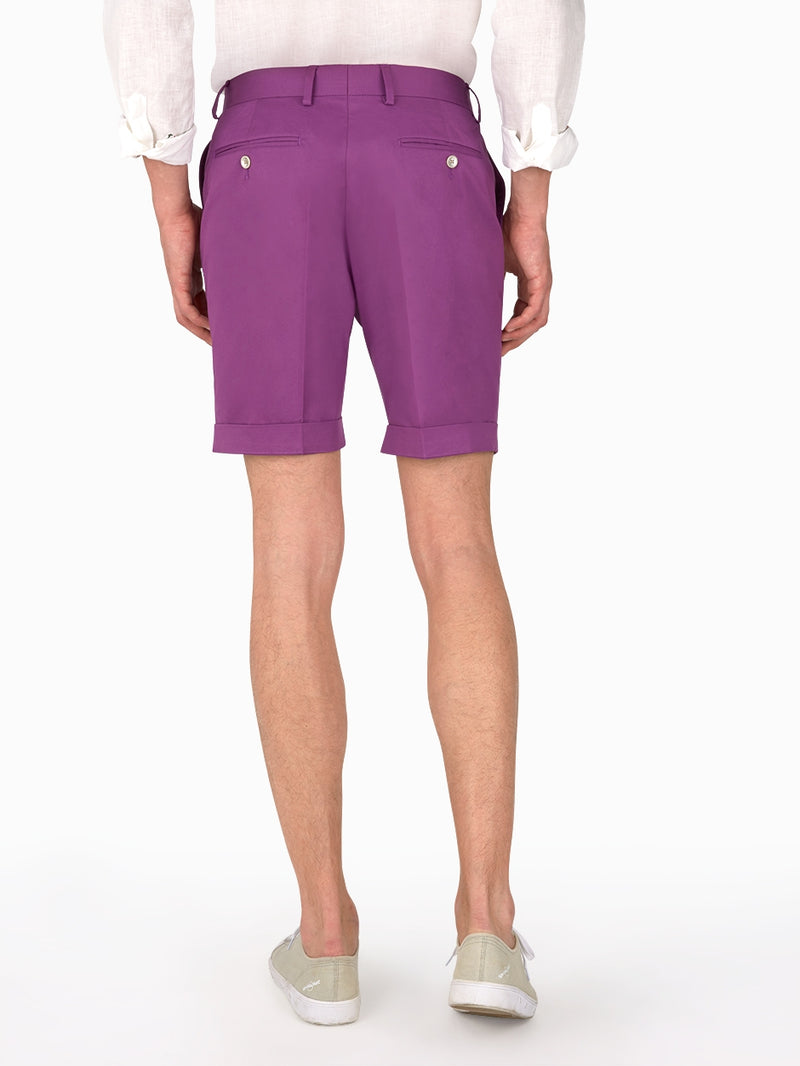 Mens-Shorts-Purple