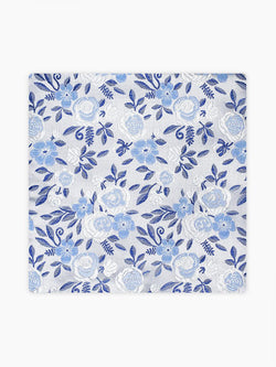 Roda-Floral-Pocket-Square-White