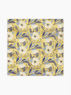 Solst-Floral-Pocket-Square-Yellow