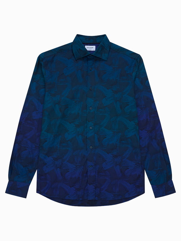 Paint Marks Degrede Shirt Navy