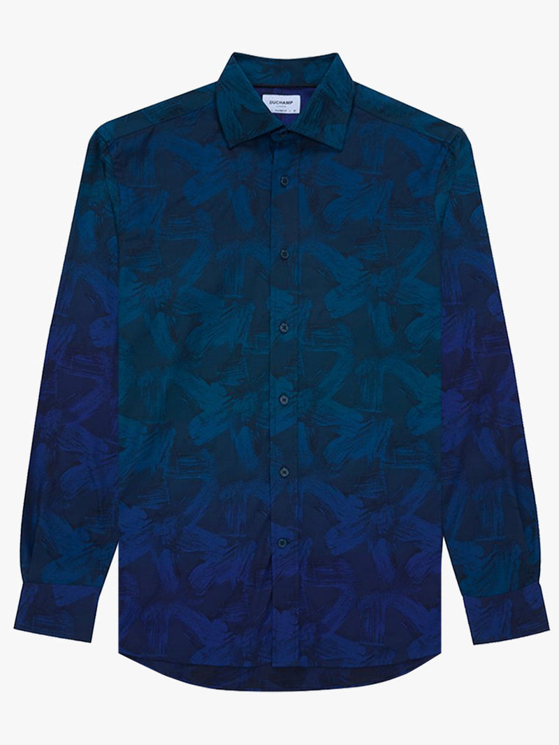 Paint-Marks-Degrede-Shirt-Navy
