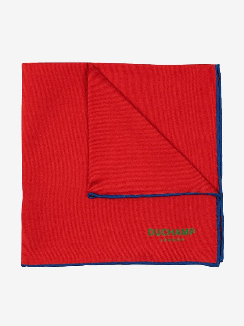 Plain-Contrast-Pocket-Square-Red