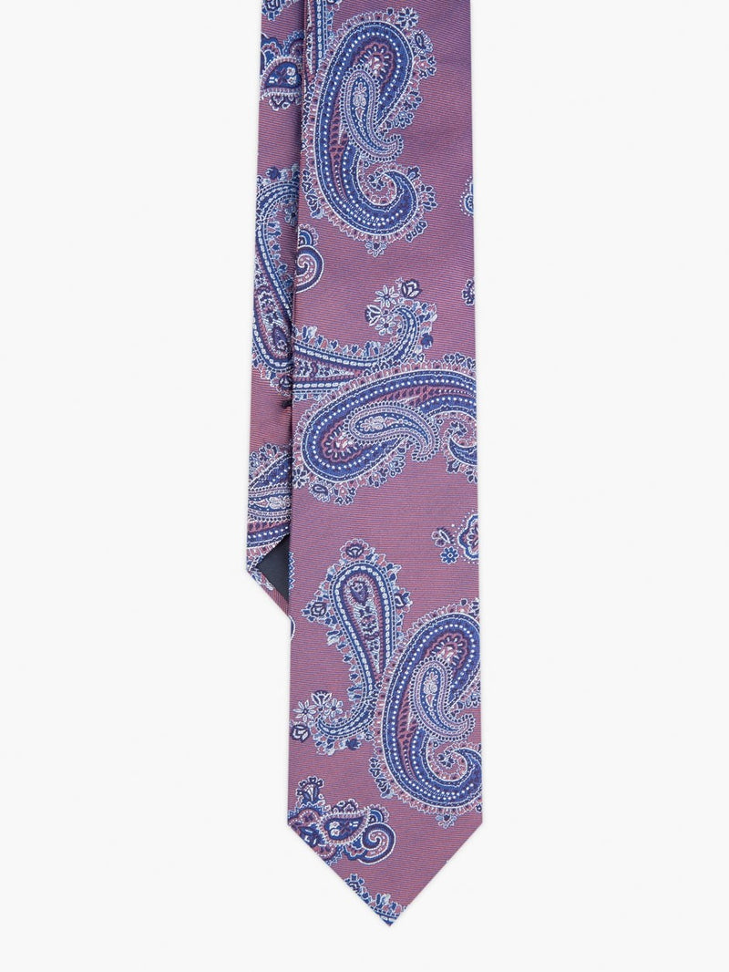 Classic Paisley Tie Pink