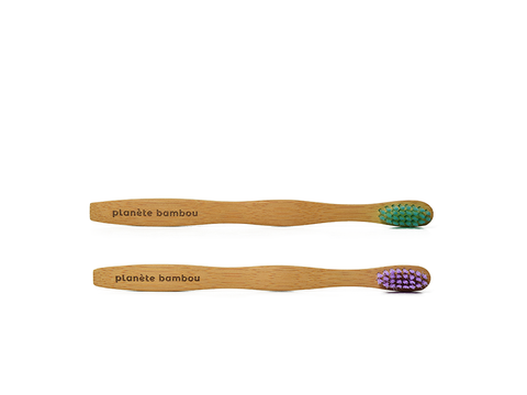 Pour enfants - paquet de 2 (Kids toothbrush - dual pack)