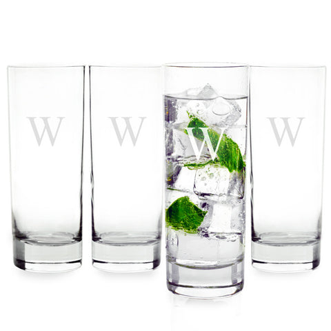 Personalized Mojito Cocktail Glasses (Set of 4)