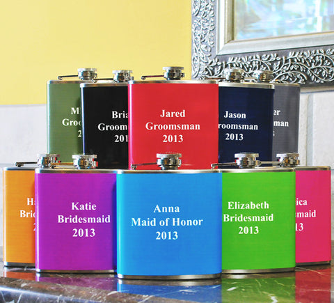 Custom Color Flasks