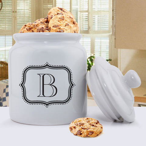 Cookie Jar -  Family Designs - Single Letter