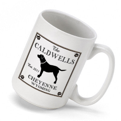 Cabin Series Coffee Mug - Labrador