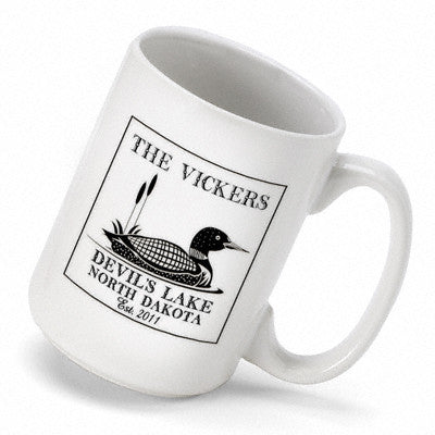 Cabin Series Coffee Mug - Loon