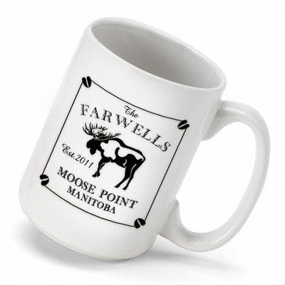 Cabin Series Coffee Mug - Moose