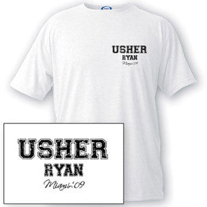 Collegiate Series Usher T-shirt