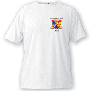 Bachelor Party Badge T-shirt