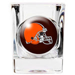 Personalized NFL Shot Glass - Browns