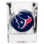Personalized NFL Shot Glass - Texans