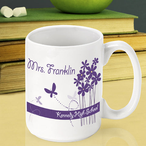 Teacher Coffee Mug - Bloomin' Butterfly