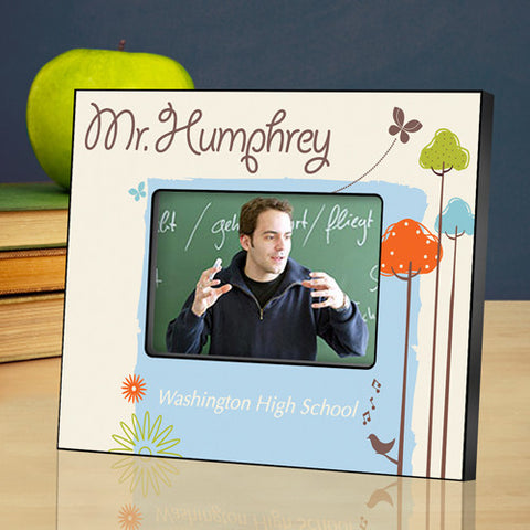 Teacher Picture Frame - Nature's Song