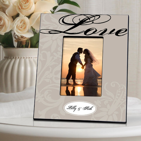 Couple's Frame - Love - Pewter