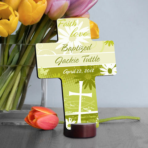 Baptismal Cross - Faith
