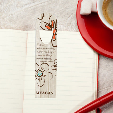 Personalized Bookmark - Design 13