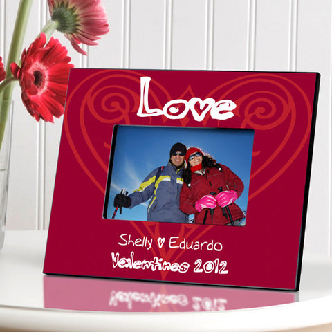 Valentines Frame - Lots of Love