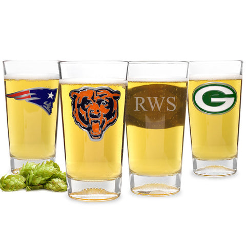 Bears NFL Pint Glass