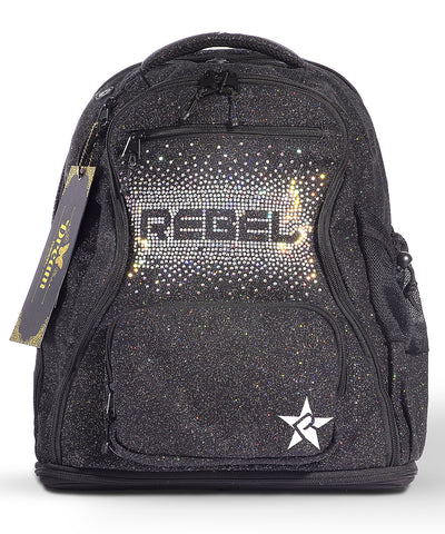 Dream Bag with Crystal Logo - Black/Black