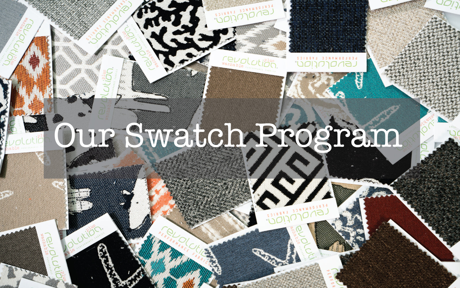 Our fabric swatch program