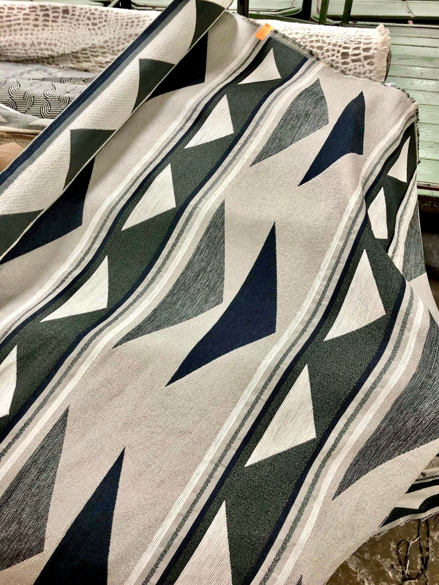A Revolution pattern inspired by traditional Navajo Designs