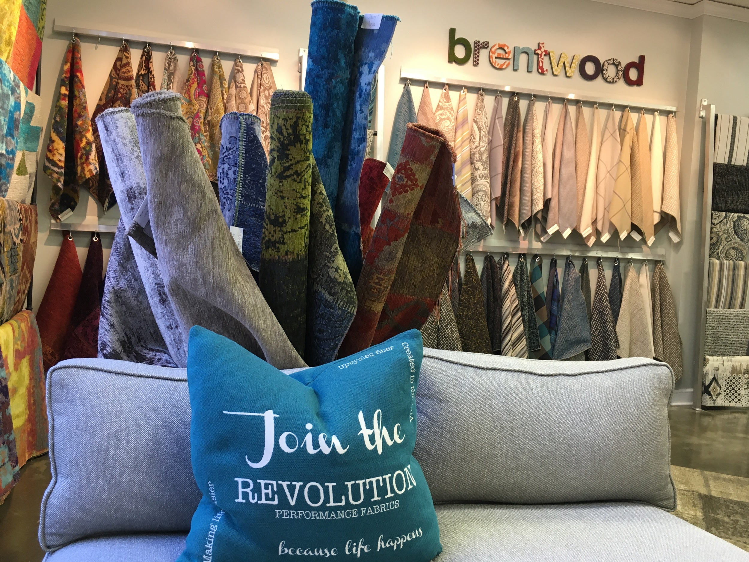 Join the Revolution  |  Brentwood Tex  tiles showroom in High Point, North Carolina