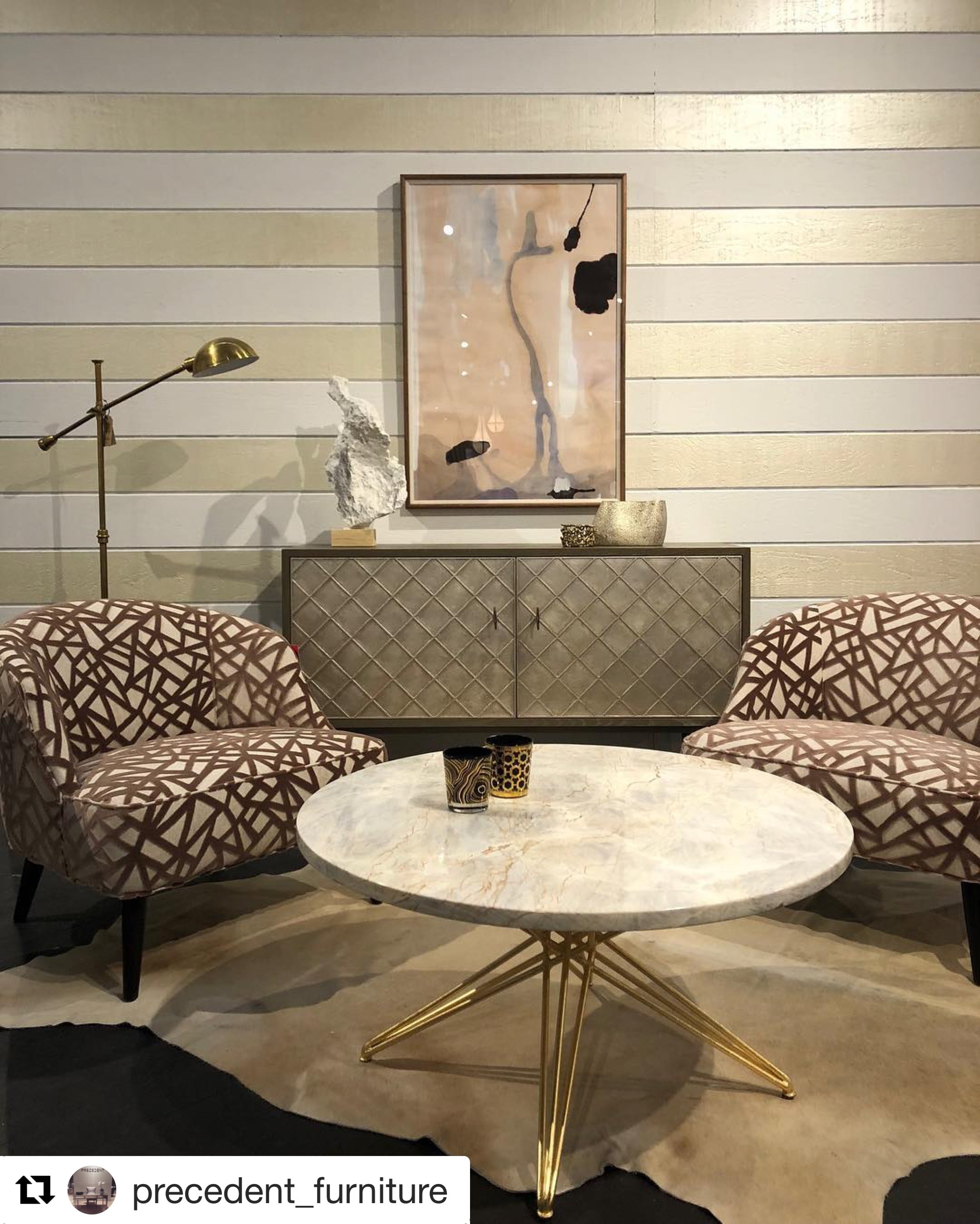 Photo: Brentwood Textiles on Precedent Furniture