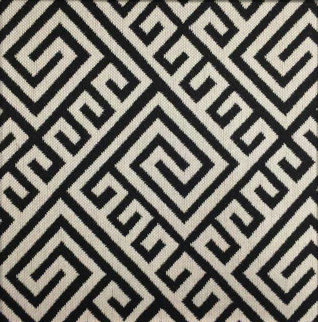 greek key performance fabric