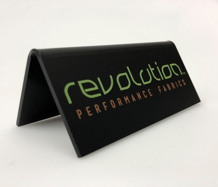 5 x 2 Revolution Plaque - 5 x 2 Revolution Plaque - Revolution Upholstery Fabric